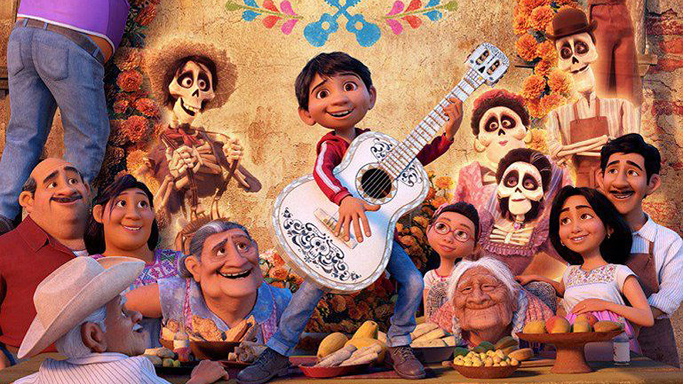 Publicity image from the movie Coco